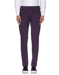 Entre Amis Trousers Casual Trousers Men Garnet