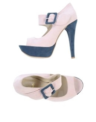 Le Stelle Pumps With Open Toe Light Pink