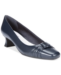 Easy Street Shoes Easy Street Waive Pumps Women's Shoes New Navy