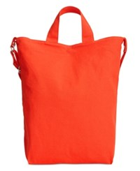 Baggu Duck Canvas North South Tote Poppy