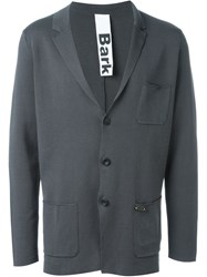 Bark Boxy Blazer Grey