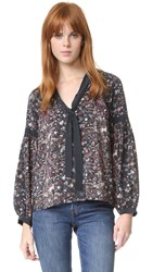 Ulla Johnson Etienne Blouse Midnight