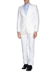 Massimo Rebecchi Suits And Jackets Suits Men White
