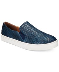 Wanted Boca Woven Slip On Sneakers Women's Shoes Navy