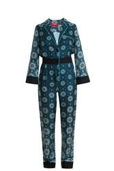 For Restless Sleepers Nefele Jumpsuit Green