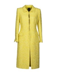 Ivan Montesi Full Length Jackets Yellow