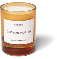 Byredo Cotton Poplin Scented Candle 240G Colorless