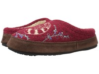Acorn Forest Mule Red Raccoon Women's Slippers