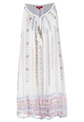 Derhy Ecrevisse Summer Dress Ecru Off White
