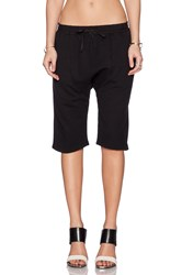 Oak Karate Sweatshort Black