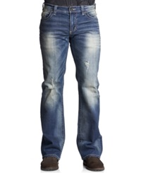 Affliction Cooper Relaxed Bootcut Jeans Ruler