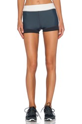 Vpl Banded Boy Short Charcoal