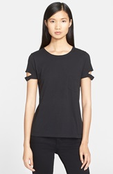 Helmut Lang Cotton Pocket Tee Black