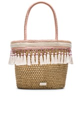 Caffe Beach Bag Beige