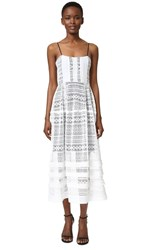 Marissa Webb Vanessa Dress White Combo