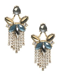 Lonna And Lilly Epoxy Drop Earrings Blue