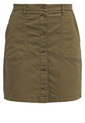 Only Onlamy Denim Skirt Grape Leaf Dark Green