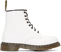 Dr. Martens White Eight Eye 1460 Boots