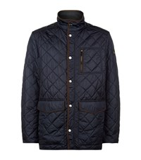 Paul And Shark Multi Pocket Quilted Zip Jacket Male Navy