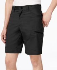 Hawke And Co. Outfitter Men's Flat Front Stretch Tech Shorts Black Tie