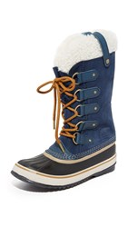 Sorel Joan Of Arctic Boots Collegiate Navy