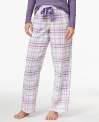 Alfani Printed Flannel Pajama Pants Only At Macy's Plaid