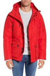 Woolrich John Rich Men's 'Gtx Mountain' Waterproof Down Jacket Red