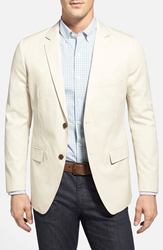Bonobos 'Foundation' Trim Fit Cotton Blazer Khaki