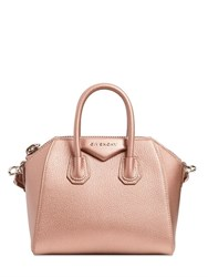 Givenchy Mini Antigona Metallic Leather Bag