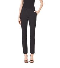Michael Kors Samantha Stretch Cotton Skinny Pants Black