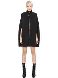 Versace Wool Knit Cape