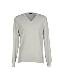 Trussardi Jeans Sweaters Light Grey
