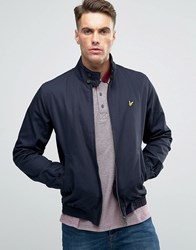 Lyle And Scott Harrington Jacket Eagle Logo Navy