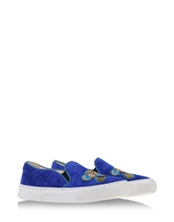 Markus Lupfer Low Tops Dark Blue