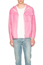 Our Legacy Cropped Lizard Parka In Pink