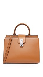 Marc Jacobs West End Small Top Handle Satchel Maple Tan