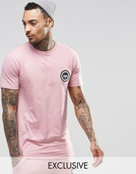 Hype T Shirt With Crest Logo Pink