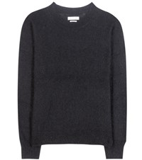 Etoile Isabel Marant Clifton Mohair And Wool Blend Sweater Black