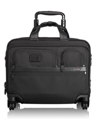 Tumi Alpha 2 4 Wheel Deluxe Brief With Laptop Case Black