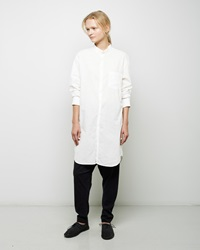 Forme D'expression Cuffed Collar Shirt White