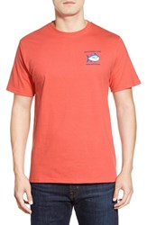 Southern Tide Men's Short Sleeve Skipjack T Shirt Nautical Orange