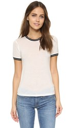Rag And Bone Stevie Short Sleeve Tee Blanc