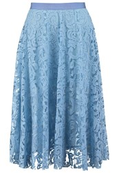 Roberto Collina Pleated Skirt Light Blue