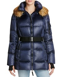 Aqua Nicky New Alps Puffer Jacket Midnight Navy