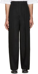 Vetements Black Oversized Suit Trousers