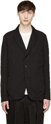 Attachment Black Pinstripe Blazer