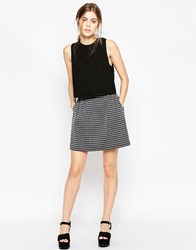 See By Chloe Stripe Mini Skirt Multi