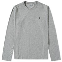 Polo Ralph Lauren Long Sleeve Crew Neck Tee Grey