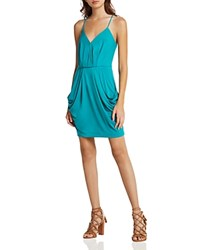 Bcbgeneration V Neck Draped Jersey Mini Dress Jasmine