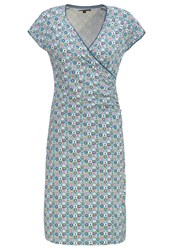 King Louie Tosca Jersey Dress Pastel Blue Light Blue